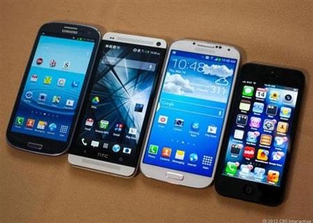 Apple, Samsung đang ''nuốt'' dần các đối thủ smartphone