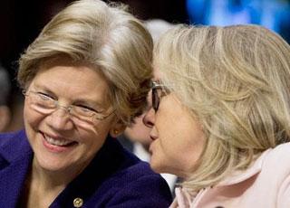 Lần đầu tiên nước Mỹ có thể do 2 phụ nữ đứng đầu